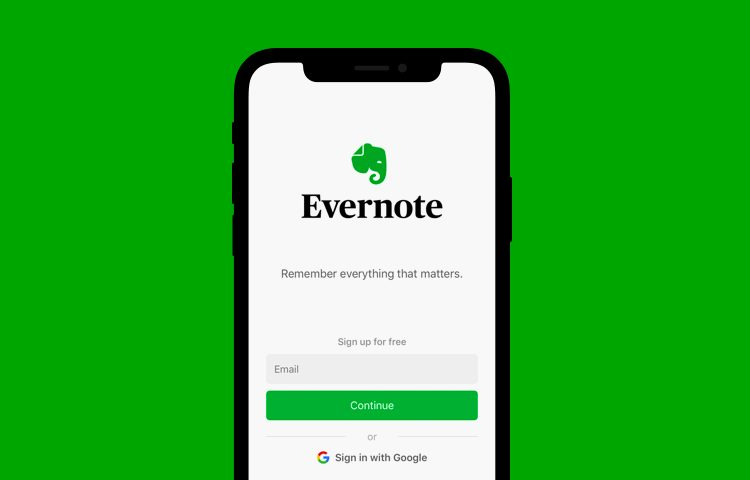 UX case study: Evernote - Justinmind