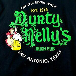 Durty Nellys Irish Pub T-Shirt Mens Size Medium Tee San Antonio Texas | eBay